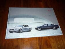 Audi A8 12 Zylinder Prospekt 08/2007