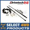 Premium Drivetech 4x4 Bonnet Hood Strut Kit For Toyota Hilux & Fortuner 2015-ON