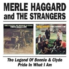 Merle Haggard & The Strangers Legend Of Bonnie & Clyde/Pride In What I Am CD NEW