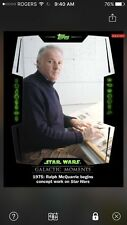 Topps Star Wars Digital Card Trader Galactic Moments Ralph McQuarrie Insert