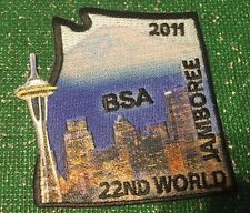 2011 World Scout Jamboree USA BSA Contingent Backpatch Section Northwest