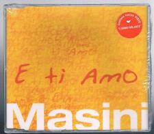MARCO MASINI E TI AMO CD SINGOLO  SIGILLATO!!!