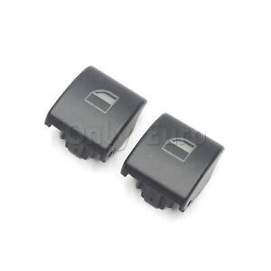 BMW Window Control Switch Push Button Cover E46 E90 PAIR (Some E53 X5 E83 X3)