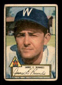 1952 Topps Set Break #2 James E. Runnels GD *OBGcards*