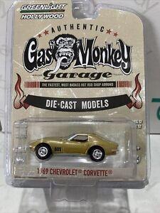 GREENLIGHT Hollywood Series 12 - GAS MONKEY - 1969 Chevrolet Corvette - 1:64 !!!