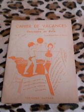Cahier De Vacances- N° 2 - Cours Élémentaire, 1ère Année - Nathan
