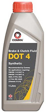 Comma - DOT 4 Synthetic Brake & Clutch Fluid - 1 Litre *NEW*