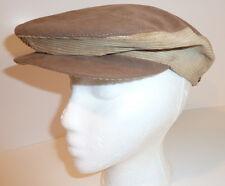 Bourse Cellini Vintage Small Tan Hat MENS BERET NEWSBOY CABBIE DRIVING CAP UNION