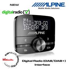 Alpine EZi DAB GO Digital Radio (DAB/DAB+) Interface Inc DAB Antenna Universal