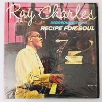 Ray Charles Ingredients In A Recipe For Soul LP 1963 VG+ Original Inner Sleeve