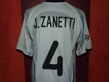 ZANETTI INTER 2001/2002 AWAY MAGLIA SHIRT CALCIO FOOTBALL MAILLOT JERSEY SOCCER