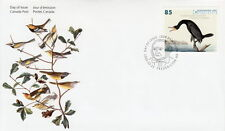 CANADA #2099 85¢ JOHN JAMES AUDUBON'S BIRDS DOUBLE CRESTED CORMORANT FDC