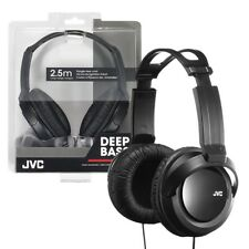 JVC Full-Size Stereo Headband Headphones 3.5mm Jack Large 40mm Drivers HA-RX330
