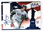 93/150 Todd Frazier 2007 Signed JERSEY Auto Autographed Rookie Ball Card Yankees