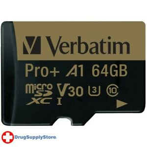 PE 64 GB Pro Plus 666X microSDXC(TM) Memory Card with Adapter