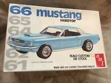 AMT 1966 Mustang Hardtop 1/25 Scale Kit