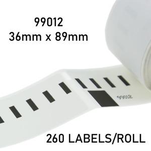 Label Roll 36x89mm For Dymo LabelWriter 400 Twin Turbo & 450 Twin Turbo. 030