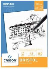 Canson Zeichenpapier-block Bristol DIN A3 180 G/qm weiß