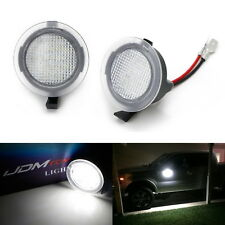 White Full LED Side Mirror Puddle Lights For Ford F150 Edge Flex Taurus, etc.