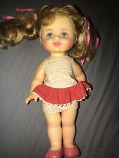 Talking Buffy Doll Family Affair 1967 Vintage Mattel 10 Inch Needs Repair