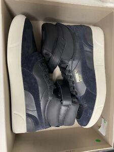 [372870-02] PUMA Sky LX Mid Lux Black Men's Basketball Shoes Size 13