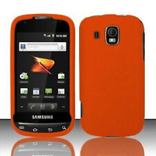 Rubberized Orange HARD Protector Case Phone Cover for Samsung Transform Ultra
