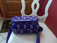 Vera Bradley insulated mini lunch cooler in Simply Violet NWT