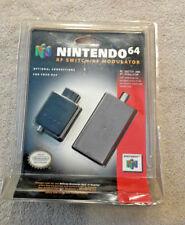 RF Switch/RF Modulator for Nintendo 64 N64 Official OEM NEW Sealed Blister Pack