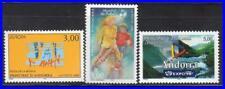 ANDORRA 1998 EUROPA-CEPT/FOOTBALL/EXPO SC#495-97 MNH CV$6.00