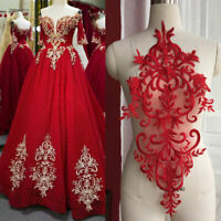 Royal Performance Dress Applique Embroidery Lace Patch Sewing
