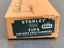 6 VTG 594A Stanley Soft Face Hammer Tip End Unused USA Replacement Piece