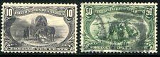 USA 1898 122-123 gest OMAHA schön ZENTRIERT 210€(Z1802