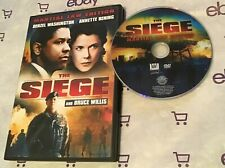 The Siege (DVD, 1998, Martial Law Edition Widescreen) Denzel Washington | Bruce