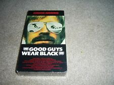 Good Guys Wear Black (VHS, 1977) – SEALED Chuck Norris