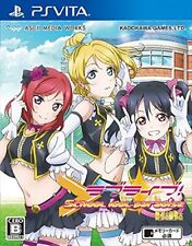 Used PS Vita Love Live School Idol Paradise Vol.2: BiBi  Free Shipping