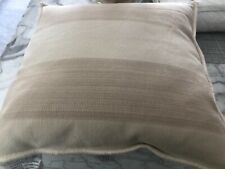 Ralph Lauren Graydon Ticking Stripe Decorative Pillow Dune $135