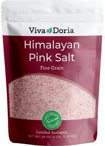 5 lbs Natural Organic Himalayan Crystal Pink Salt (Fine Grain) Ancient Sea Salt