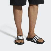 Adidas Sliders Sandals Shoes Slip Ons Sports Beach Pool Black Football Flip Flop