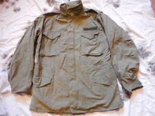 GENUINE US Army ISSUE M65 FIELD COAT COMBAT jacket VIETNAM WAR OG107 GREEN M L