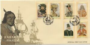 2003 Bahamas FDC cover Bahamas Pirates