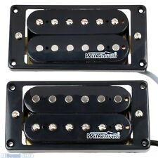 NEW - Wilkinson MWHB 'HOT' Humbucker Pickup Set for Gibson, Epiphone - BLACK