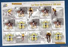 France Bloc N°59 Cyclisme Centenaire du Tour de France 2003 Neuf Lux