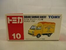 Tomy Subaru Sambar Bakery 10 Diecast in Plastic