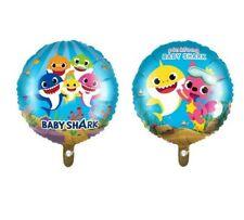 BABY SHARK Mylar Foil Helium Balloons Birthday Party Supplies Decor Favors
