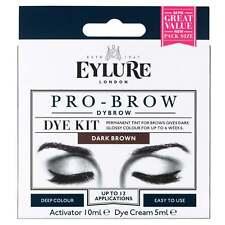 Eylure Dybrow Ceja de Pro-Cejas Permanente tinte Colorante Kit-Marrón