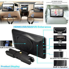 "10.1"" HDMI Car DVD /VCD /MP4 MP5 Player Digital LCD Screen Headrest Game Monitor"