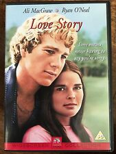 Ryan O'Neal Ali MacGraw LOVE STORY ~ 1970 Weepie Classic | UK DVD
