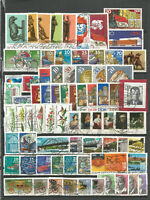 DDR  1976   gestempelt  kompletter Jahrgang gute-Stempel + Einzelmarken