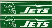 1990's= 2= NEW YORK JETS= WINCRAFT BUMPER STICKERS==SEE SCAN==