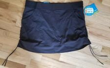 96d6103a1b0ad NWT COLUMBIA Anytime Casual BLACK OMNI-SHIELD SKORT SKIRT Omni-Shield 1X  65